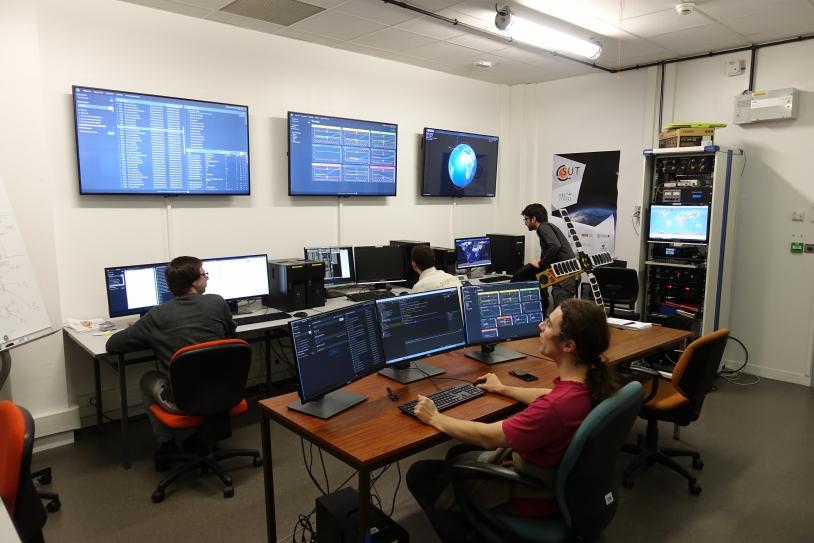 Centre de mission d'EyeSat